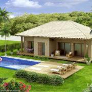Modelo de casa ecológica