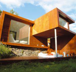 16 coisas casas de madeira